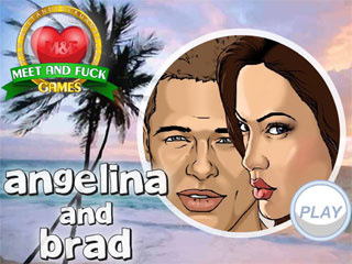 Meet and Fuck for Android game Angelina and Brad