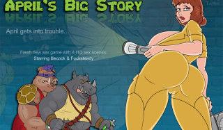 April's Big Story