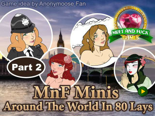 Meet and Fuck mobile games Arround the World in 80 lays part 2
