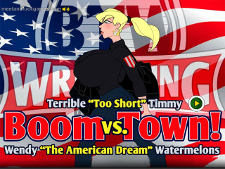 Meet and Fuck APK game Boom Town! Watermelons Wendy vs. Timmy