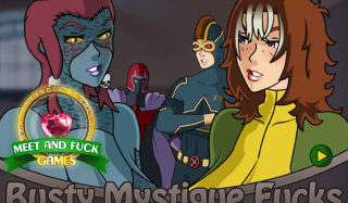 Busty Mystique Fucks