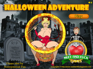 MeetAndFuck APK game free Halloween Adventure