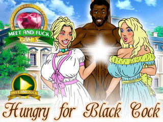 Meet and Fuck mobile game Hungry for Black Cock