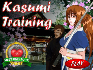 Meet N Fuck for mobile game Kasumi Traning