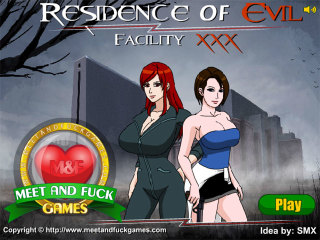 MeetAndFuck mobile games Residence of Evil Facility XXX