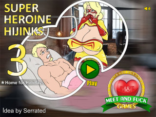 MeetAndFuck games Android Super Heroine Hijinks 3 Home for Holidays