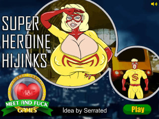 MeetAndFuck mobile free game Super Heroine Hijinks