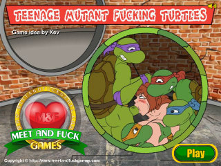 Meet and Fuck Android games Teenage Mutant Fucking Turtles
