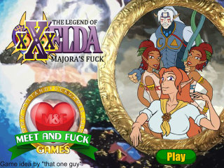 Meet N Fuck game mobile The Legend of XXXelda Majoras Fuck