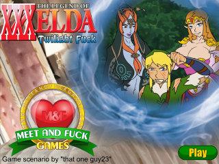 Meet N Fuck mobile game The Legend of XXXelda Twilight Fuck