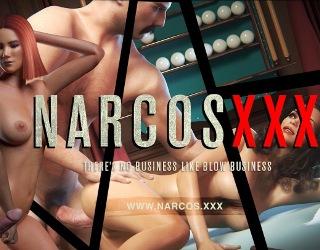 narcos xxx gangster sex game online